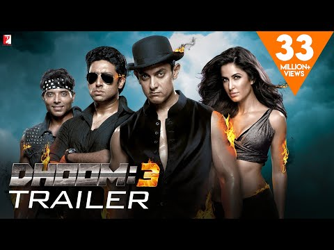 DHOOM:3 Theatrical Trailer 2013