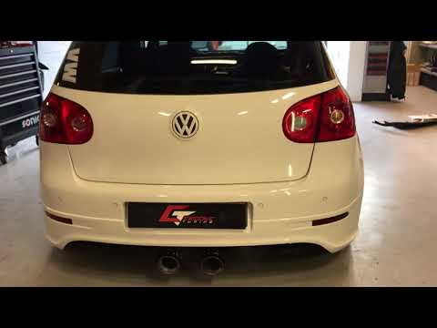Golf 5 Gti Revving Magnaflow Exhaust Hjs And 3 Inch Downpipe