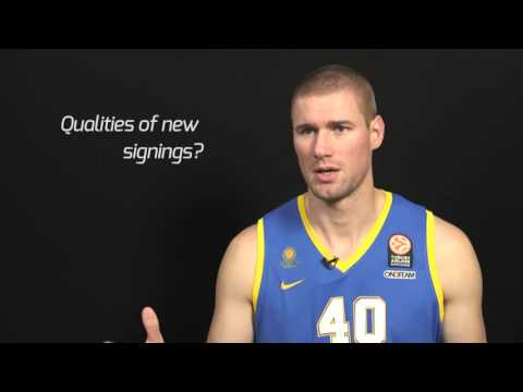 Pre-season Interview: Paul Davis, Khimki Moscow Region
