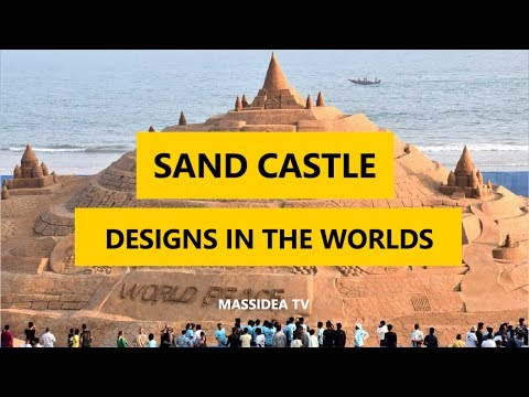50+ Epic Sand Castle Designs in The Worlds 2017