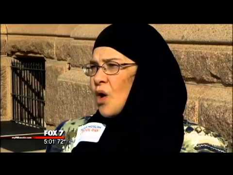 Texas Muslim Capital Day Interupted By Christine Weick
