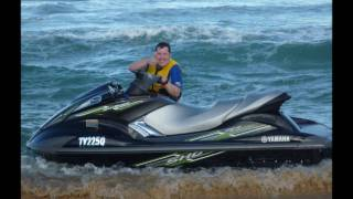 8. Yamaha FX SHO Waverunner Jetski 2009, First Day Out!!