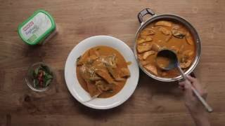 Fish Head Curry with MARIGOLD Yoghurt