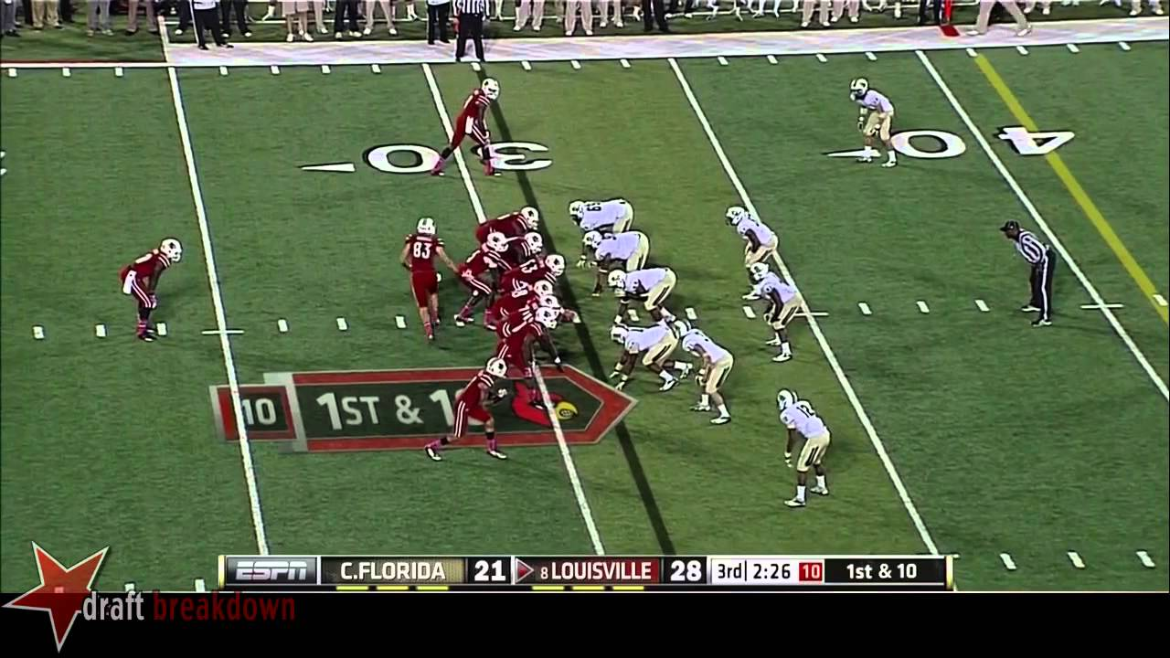 Teddy Bridgewater vs UCF (2013)