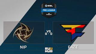 FaZe vs NiP, game 1