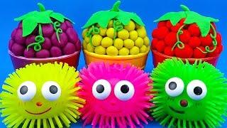 Video Learn Colors with Play Doh Ice Cream Grape Fruit Surprise Toys PJ Masks Kinder Surprise Eggs MP3, 3GP, MP4, WEBM, AVI, FLV Juni 2019