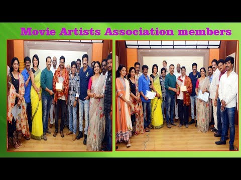 MAA Members Requested them to give Opportunities in Telugu Films,Vizagvision..