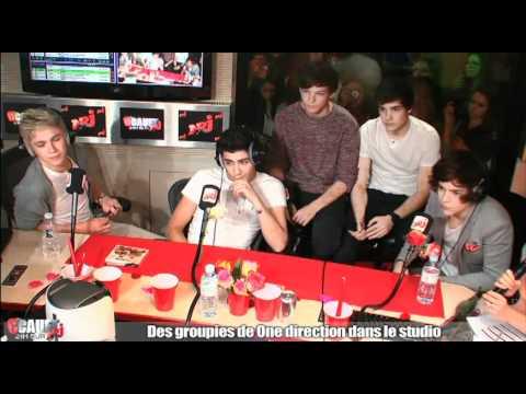 Des groupies de One Direction dans le studio – C'Cauet sur NRJ