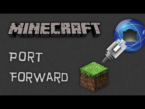 port forward - NOTE: This tutorial is fully compatible with the new Minecraft version 1.5.2 for both the original server apps and new in-game server. When it comes to port ...