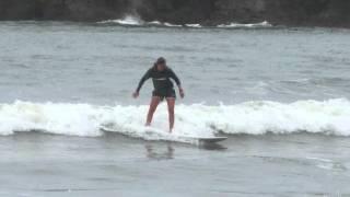 Marit&Timo Learn To Surf Koh Lanta Thailand