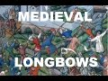 Download Video Medieval warbows or longbows - traditional archery