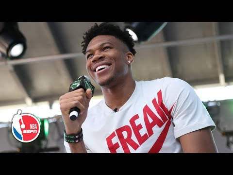 Video: Giannis doesn't want to be called 'MVP' until he wins it again next season | NBA on ESPN