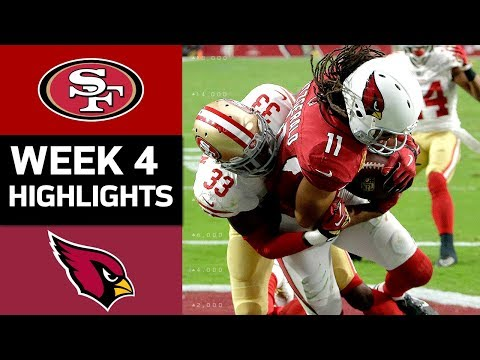 Video: 49ers vs. Cardinals | NFL Week 4 Game Highlights