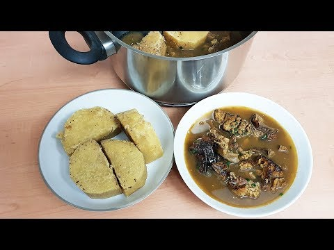Ji Mmiri Oku: Special Yam Peppersoup for New Mums | Flo Chinyere