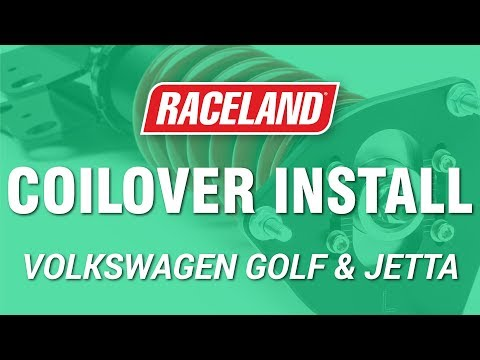 How to Install Raceland VW MK4 Coilovers