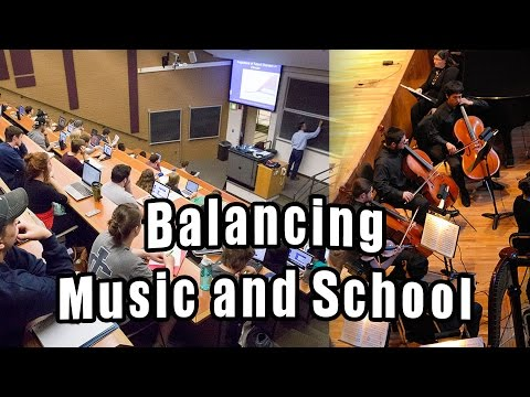 How to balance school and music practicing