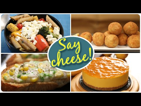 Say Cheese Special Recipes | Quick And Easy To Make Cheese Recipes