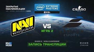 Na`Vi vs Epsilon - IEM Katowice Qual EU - map2 - de_inferno [ceh9, yXo]