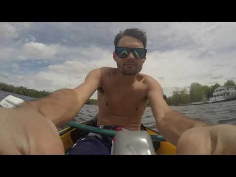 Kayak Timelapse 4K - Coldwater Lake