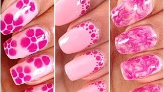 3 Easy and Quick Nail Art for Beginners - YouTube