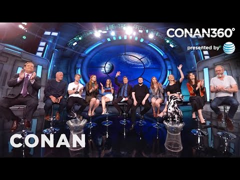 "CONAN360: ""Game Of Thrones"" Cast Interview Part 2"