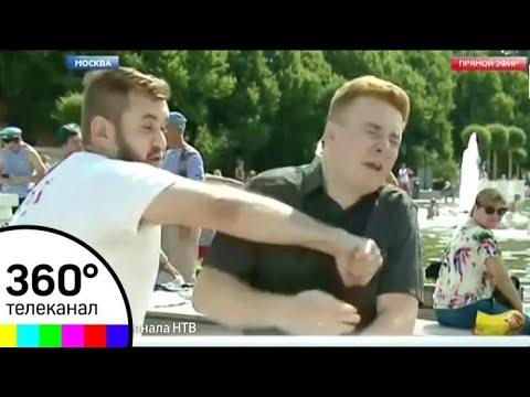 ШОК! День ВДВ. Корреспонденту НТВ показали, что такое ВДВ в прямом эфире