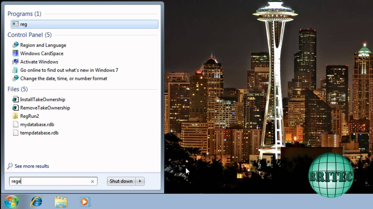 Extend Windows Vista and 7 Trial Period from 30 Days to 360 Days by Britec