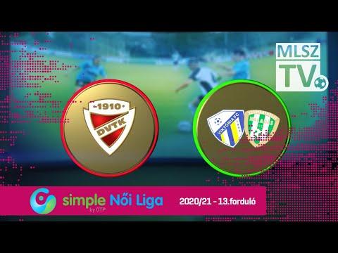 13. forduló: DVTK - Haladás 1-0 (1-0)
