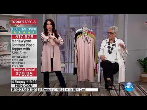HSN | MarlaWynne Fashions 02.09.2017 - 12 PM