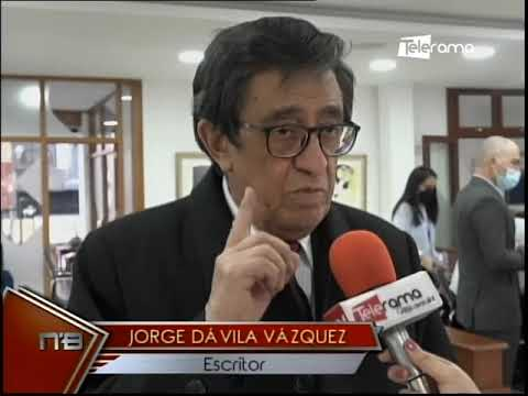 Festival de la Lira rinde homenaje a escritor Jorge Dávila Vázquez