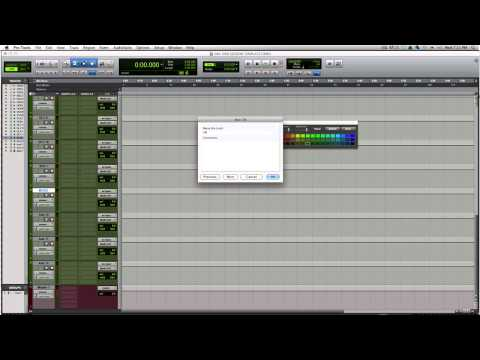 Mixing Templates In Pro Tools - TheRecordingRevolution.com -