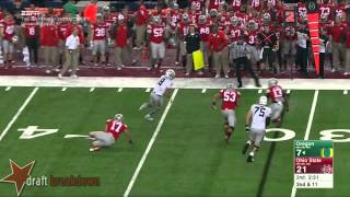 Jake Fisher vs Ohio State (2014)