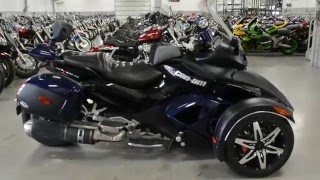 8. 2009 CAN AM SPYDER ROADSTER SM5 @ iMotorsports A1341