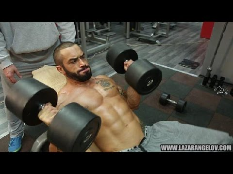 Lazar Angelov Chest/Back Workout 2014
