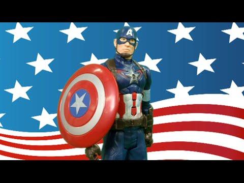 Marvel Avengers Age of Ultron Captain America Titan Hero Tech from Hasbro