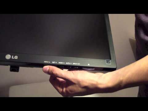 Unboxing- LG Monitor E2242 22