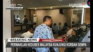 Video Perwakilan Kedubes Malaysia Kunjungi Korban Gempa di Lombok MP3, 3GP, MP4, WEBM, AVI, FLV Maret 2019
