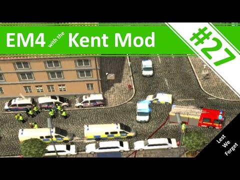Major Riot! - Ep.27 - Emergency 4 - Kent Mod Continuous Gameplay - Kent Mod v0.6