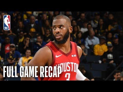 ROCKETS vs WARRIORS | Chris Paul Leads Rockets In Golden State | February 23, 2019