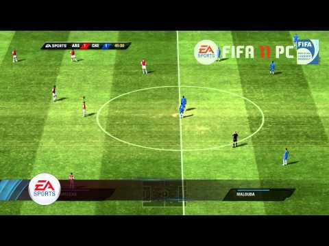 FIFA 11 (PC) - Arsenal vs Chelsea