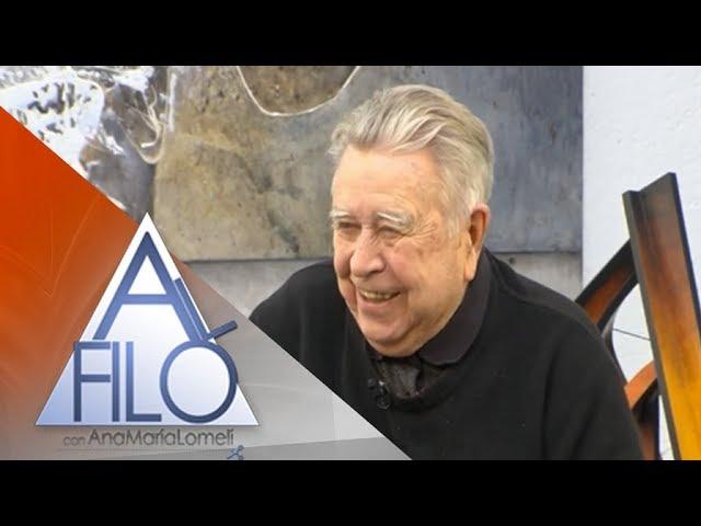 Manuel Felguérez, pionero del arte abstracto en nuestro país
