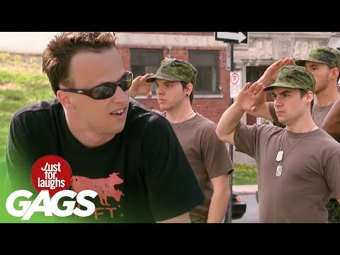 Just For Laughs Gags - Gay Army Prank 2011