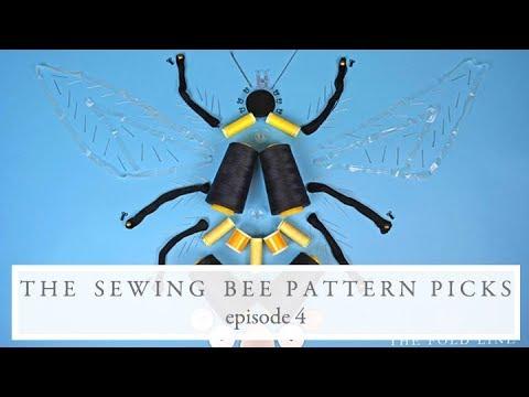 Great British Sewing Bee Pattern Picks || Series 5 Episode 4