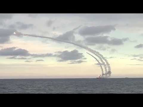 Из акватории Каспийского моря нанесен удар