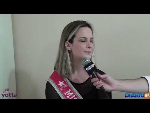 Entrevista com a Miss Teen Sarandi Rafaela Werner