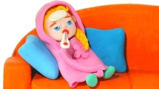 Video BABY ELSA HAS A COLD ❤ Spiderman, Hulk & Frozen Elsa Play Doh Cartoons For Kids MP3, 3GP, MP4, WEBM, AVI, FLV Juni 2018