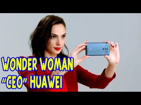 Pemeran Wonder Woman Gal Gadot, Resmi Menjadi CEO Huawei