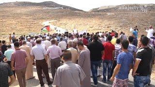 مسيرة احتجاجية على الكسارات المحاذية للأراضي الزراعية في بيت ليد