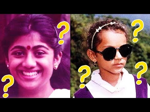 Unseen Childhood Photos of Bollywood Actors & Actress