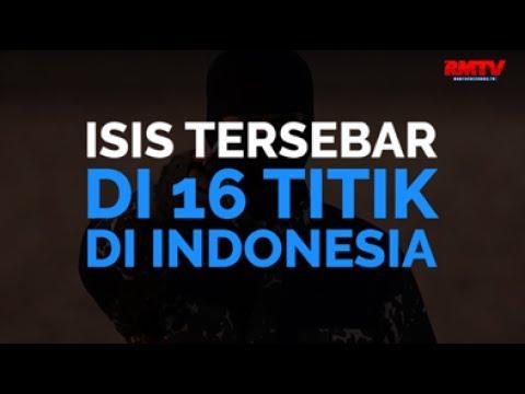 ISIS Tersebar Di 16 Titik Di Indonesia